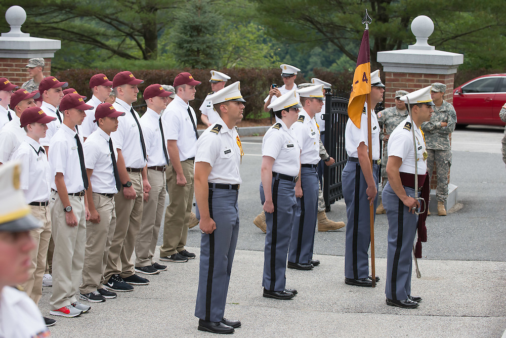 """Rooks"" and upper-classmen Core of Cadets."